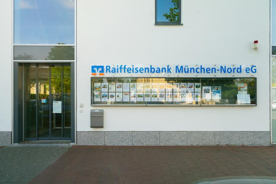 Raiffeisenbank München-Nord – Hauptgeschäftsstelle Bezirksstraße